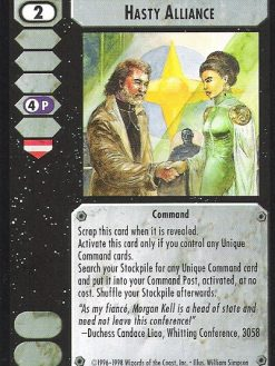 Battletech CCG Crusade Command It/'s A Trap 2